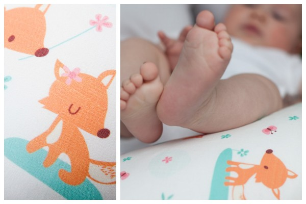 millemarille stillkissen nursing pillow füchse foxes