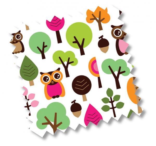 millemarille | Gästematratze - MODERN OWLS PINK