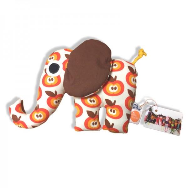 millemarille | Kuscheltier - Elefant FUNKY APPLES